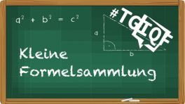 #TGIQF - das Quiz: Kleine Formelsammlung