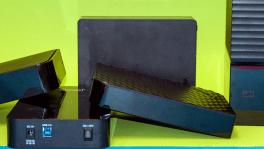 Fünf externe Festplatten im Test: Backups per USB 3.0