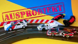 Carrera Bahn 132 im Test: Autorennen wie früher
