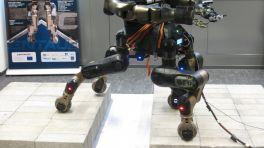Roboter Centauro: Ein Vierbeiner mit Allradantrieb