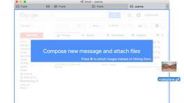 Gmail-Client Mailplane für OS X 10.11 angepasst