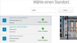 """Produktreservierung: Apple startet """"Personal Pickup"""" in Deutschland"""