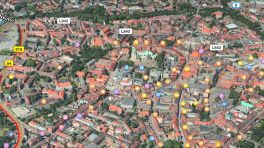 Apple Maps: Flyover für Münster