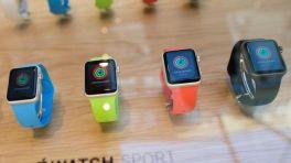 Verschiedene Apple-Watch-Modelle.