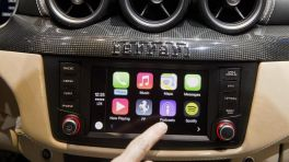 CarPlay im Ferrari