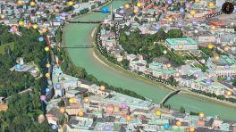 Apple Maps: Neue Flyover-Städte in Schweiz und Österreich
