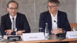 Heiko Maas (l.) und Bernhard Rohler