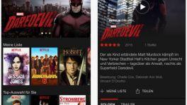 Netflix-App mit 3D Touch und iPad-Pro-Anpassungen