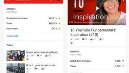 App für YouTuber mit neuen Funktionen