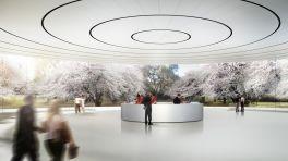 Apple zeigt Bilder seiner neuen Keynote-Halle