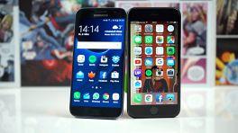 Duell der Marktführer: Apples iPhone 6S gegen Samsungs Galaxy S7