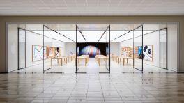 Apple-Store-Neuigkeiten: Riesendisplays und Tütenökologie
