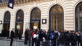 Verkaufsstart des iPhone 5 in Paris