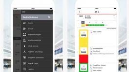 App zeigt Daten vom Bahnhof