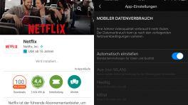 Netflix gibt App-Nutzern Kontrolle über mobiles Streaming
