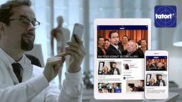 Tatort-App für iOS und Android