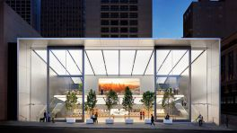 Neuer Apple Store in San Francisco: Eine Treppe für eine Million Dollar