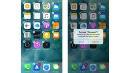 iOS 10 erlaubt das Löschen von Apples System-Apps