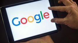 Google-Logo auf einem iPad