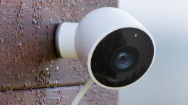 Google Nest: Außen-Überwachungskamera mit Personenerkennung