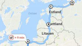 Tipp: Route mit Zwischenstopps in Google Maps