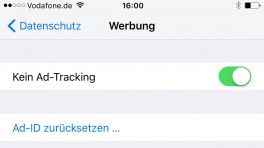 Ad-Tracking in iOS