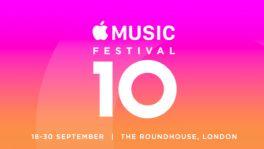 Jubiläum: Apple Music Festival steigt erneut in London