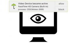 Malware könnte Video und Audio vom Mac aufzeichnen