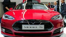 Tesla Elektrofahrzeug