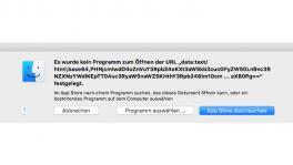 Skype-App unter macOS: Manipulierte Werbung erzeugt Finder-Fehlermeldungen