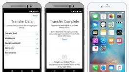 Apples Android-Wechsler-App mit neuem Download-Hoch