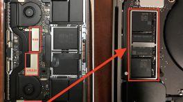 Nutzerberichte: SSD im MacBook Pro mit Touch Bar nicht entnehmbar
