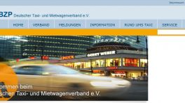 Taxi- und Mietwagenverband plant Taxi-Sharing-App