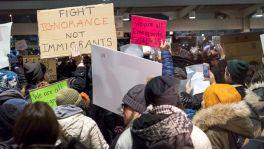 Proteste gegen das Einreise-Verbot am New Yorker Flughafen JFK