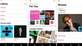 Apple Music für Android bekommt einen Neuanstrich