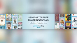 Amazon Prime Reading: Mehr lesestoff für Amazon-Kunden