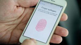 iPhone nimmt Fingerabdruck