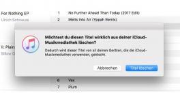 iCloud-Musik: iTunes ändert Löschfunktion – und macht sie gefährlicher