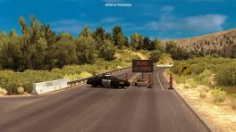 American Truck Simulator: Virtuelle Highway-Sperre wegen echtem Erdrutsch