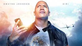 """""""The Rock"""" macht Reklame für Siri"""