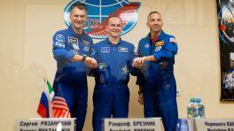 Italiener, Russe und US-Amerikaner zur Raumstation ISS gestartet