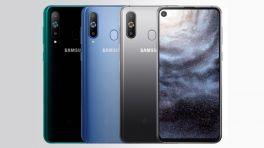 Galaxy A8s: Samsung baut Frontkamera in Smartphone-Display ein