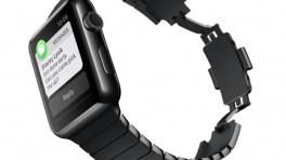 Apple Watch: Anpassungskit für schwarzes Gliederarmband