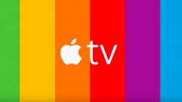 Alte Logo-Farben für neue Apple-TV-Werbeplakate