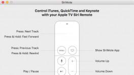 SiriMote macht die Siri-Remote zur Mac-Fernsteuerung