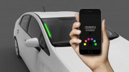 Uber stellt Spot vor - eine farbige Anzeige für Kunden