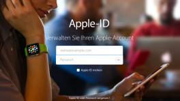 Apple-ID-Verwaltung