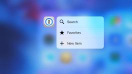 1Password für iOS mit neuen Werkzeugen und 3D-Touch