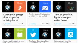 BMW steuert via IFTTT das Smart Home