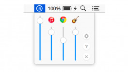 Volume Mixer OS X